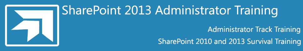 SharePoint 2013 expert training for Admins and IT Pros